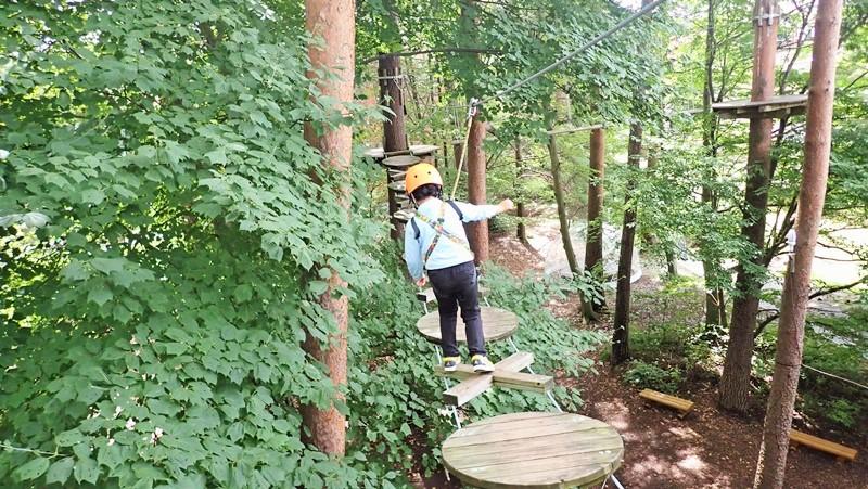 リゾナーレ八ヶ岳 森の空中散歩