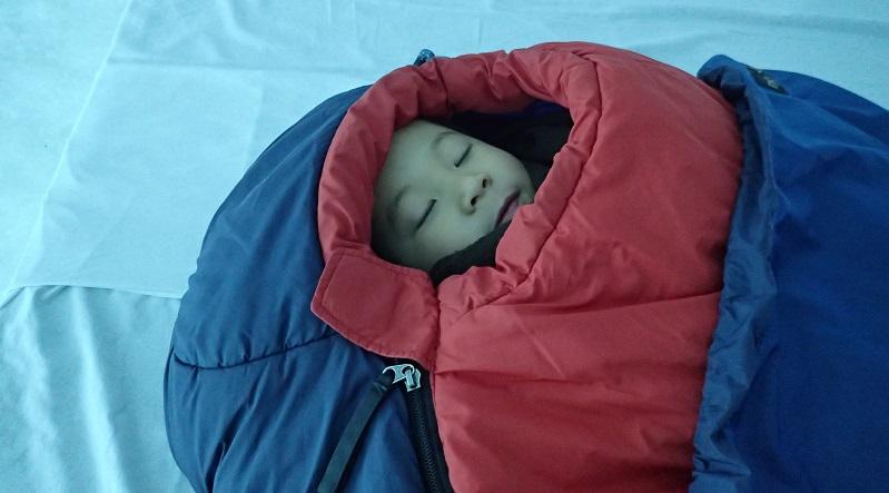 寝袋(シュラフ)の選びかた