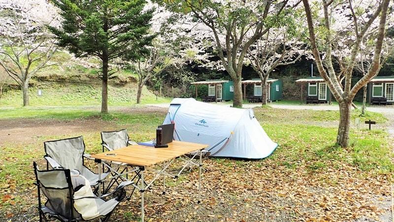 RECAMP勝浦 広々電源付サイト「こかげCAMP」